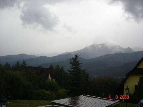 Załamanie pogody w Tatrach
