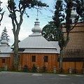 Mochnaczka Wyżna-dawna cerkiew św.Michała #DrewnianyKościółek