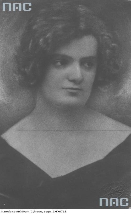 Maria Mirska, aktorka. Lwów_1918-1939 r.