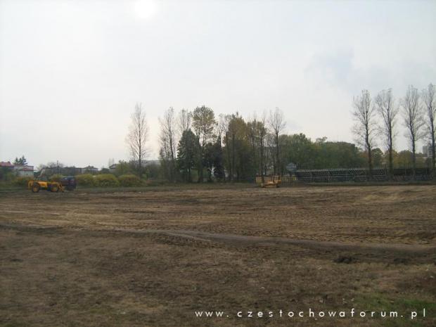Budowa boiska treningowego z naturalną nawierzchnią na MSP Raków w Częstochowie #boisko #treningowe #trawiaste #rakow #czestochowa #mosir