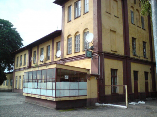 Budynek stacji Opoczno. #PKP #Opoczno