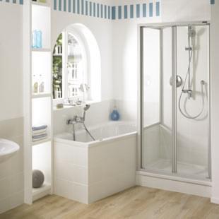 Wanna I Prysznic W Małej łazience Dom Mieszkanie I Samochód