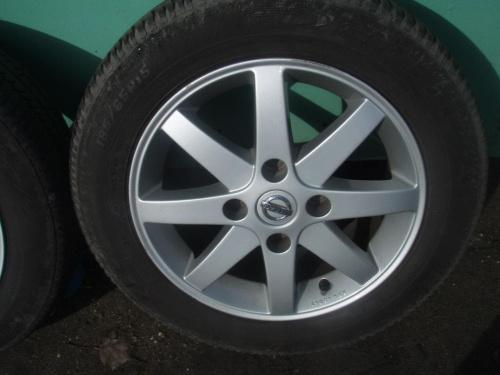 """Felgi 15"""" 4x114,3 oryginal Nissan"""