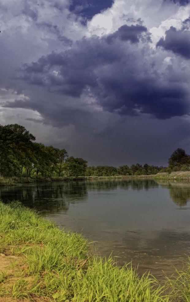 nadciąga burza #burza #krajobraz #warta