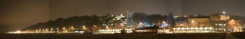 panarama nadmorskiej części Gdyni