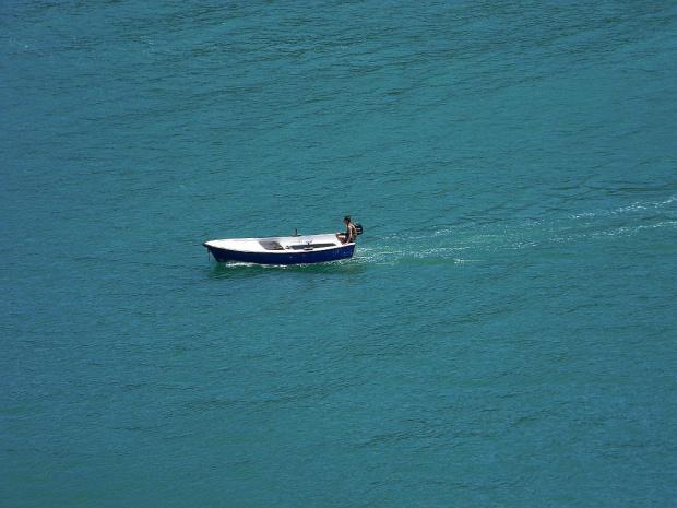 fajnie tak popływać po cieplutkim morzu Adriatyckim