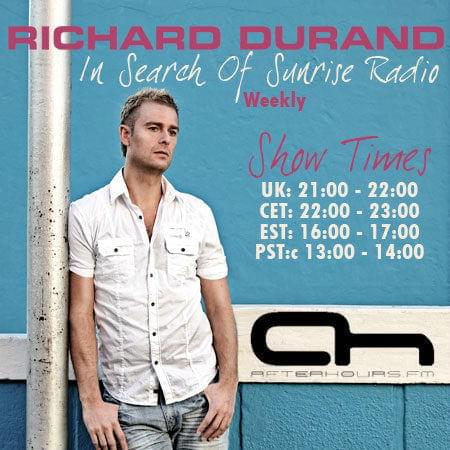 Richard Durand - In Search Of Sunrise Radio 097