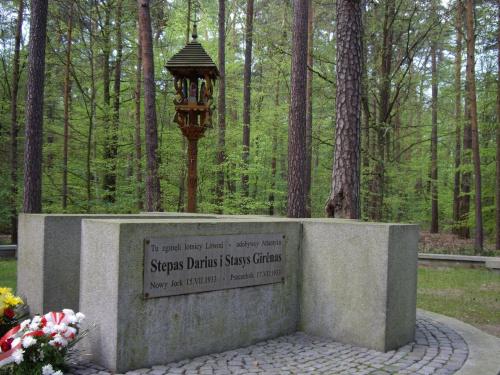 Pomnik Litewskich Lotników w Pszczelniku. #Pszczelnik