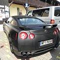 Matowy Nissan GT-R w Mikołajkach. #Nissan #GTR #mat #black
