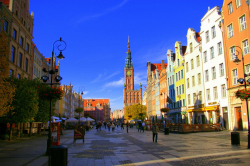 Długi Targ #Gdańsk #miasto #motława #StareMiasto