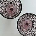 kieliszki fioletowe #kielich #KielichDoWina #kieliszek #kieliszki #KileiszekDoWina #szklany #szklo #szkło #wino