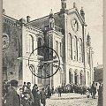 Łomża 1909 - synagoga #Łomża #Żydzi #synagoga