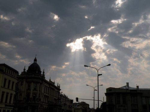 #lublin #światło #niebo