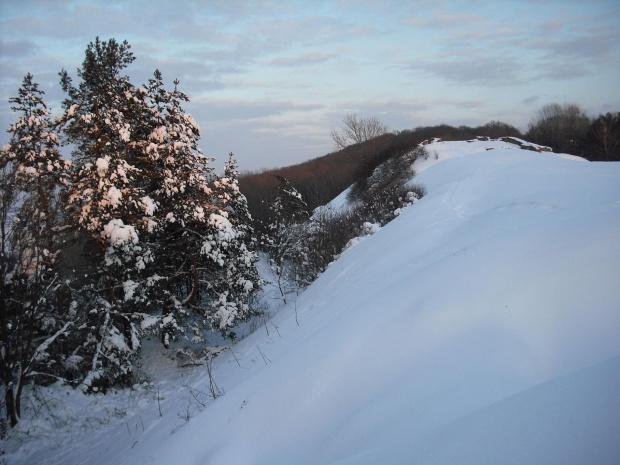 góra św.Marcina/Tarnów/. #zima